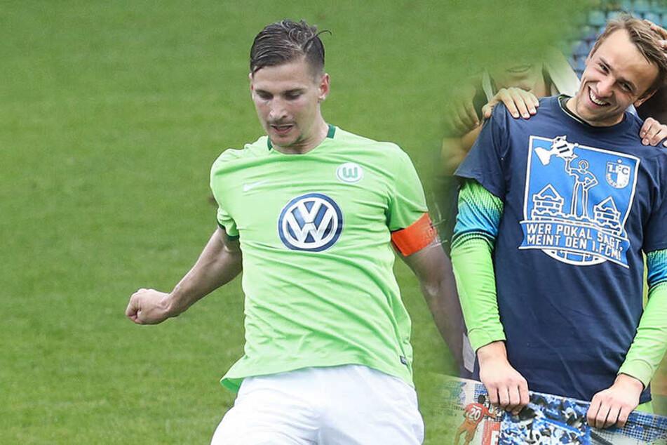 Sowohl Sebastian Wimmer (23, li.) als auch Leopold Zingerle (23) dürfen gegen Viktoria Köln von Beginn an spielen.