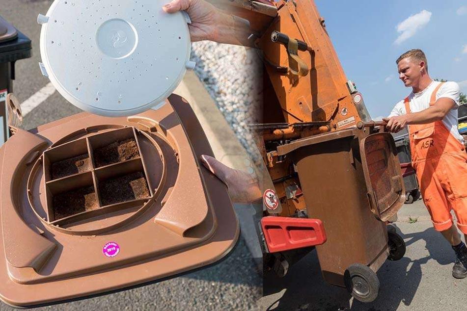 Wegen stinkenden Mülltonnen: ASR plant Biofilter