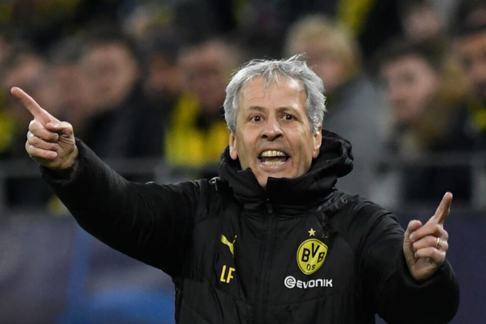 Lucien Favre (62), Borussia Dortmunds Trainer.