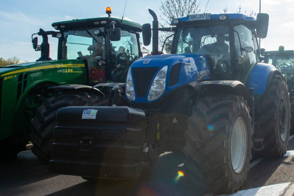 Stuttgart: Bauernproteste! Darum solltet Ihr das Auto heute besser stehen lassen