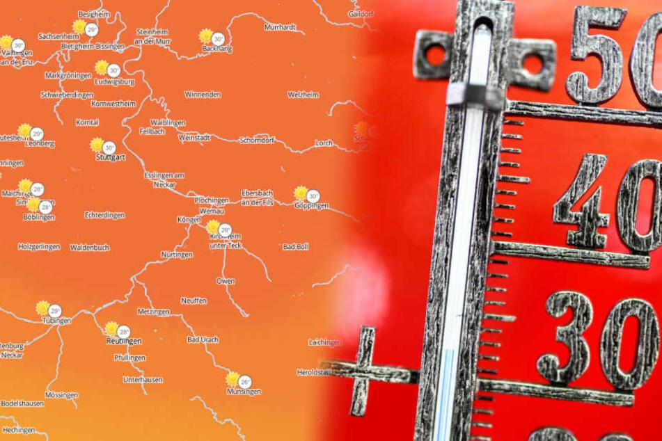 In Baden-Württemberg steigt die Quecksilbersäule wieder. (Fotomontage/Symbolbild)