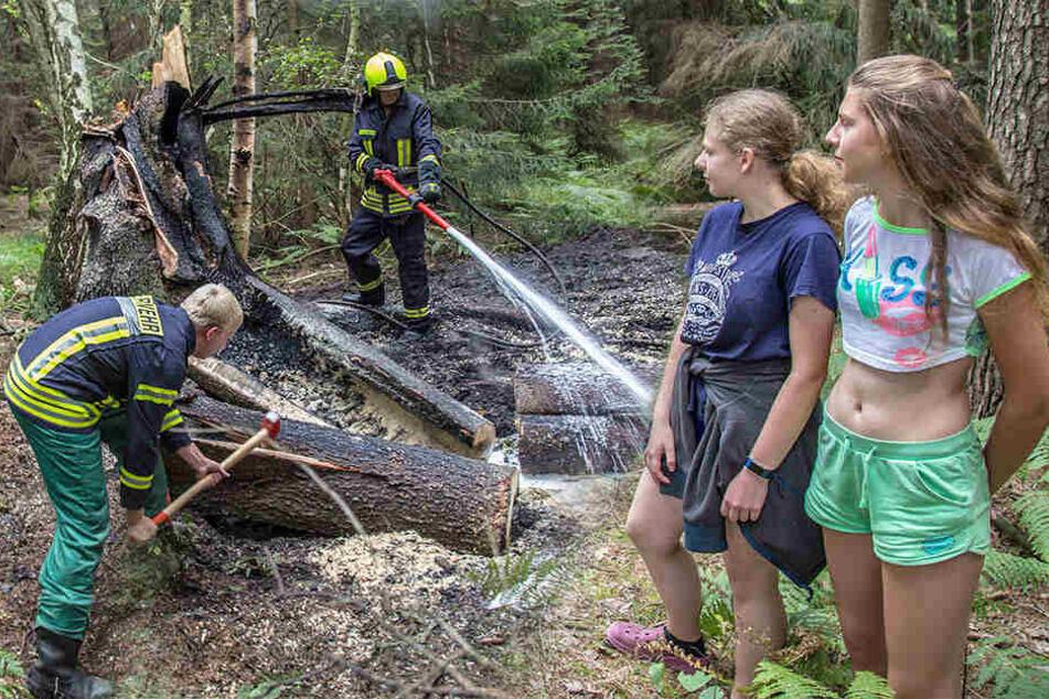 Die Super-Schwestern aus Zedlig: Wie Sara (14) und Lisa (16) einen Waldbrand verhinderten