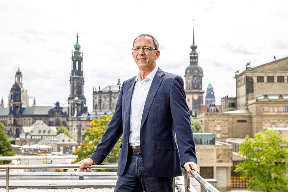 Jörg Urban rechnet mit einer langen Lebenszeit seiner Partei.