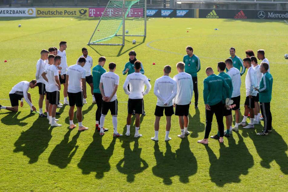 Wer darf unter Jogi Löw trainieren? Die nächste Länderspielpause wirft bereits ihre Schatten voraus.