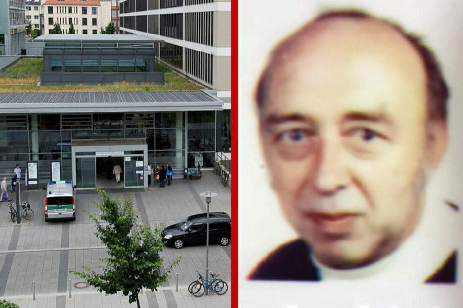 Patient verschwindet aus Uniklinikum Leipzig: Wo ist Frank?