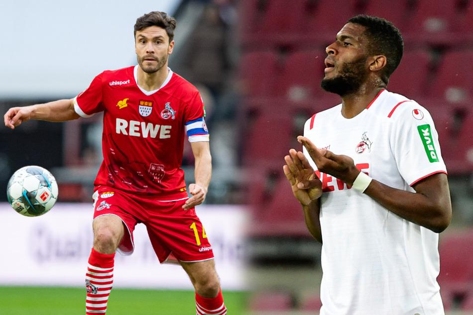Jonas Hector (30) fehlt dem 1. FC Köln verletzungsbedingt. Dafür könnte Anthony Modeste (32) sein Comeback feiern.