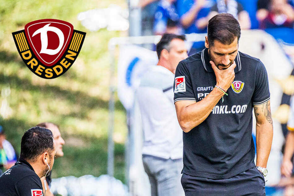 Trotz Fehlstart: Noch kommen bei Dynamo keine Zweifel auf