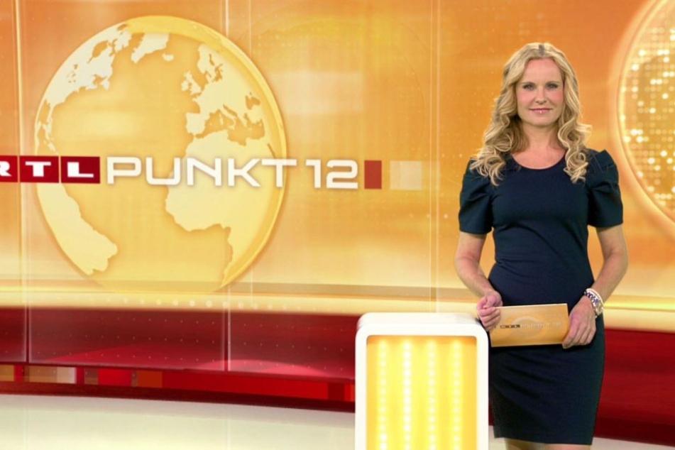 "Katja Burkard moderiert regelmäßig die Sendung ""Punkt 12"" auf RTL. (Archivbild.)"