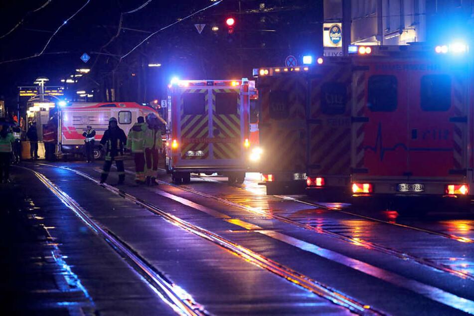 Zurzeit sind die Unfallermittler am Eifelwall im Einsatz.