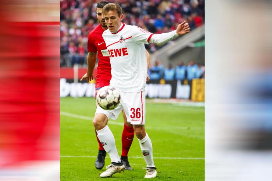 Niklas Hauptmann (hier im Spiel gegen Heidenheim) wäre für Dynamo zweifellos eine Verstärkung.