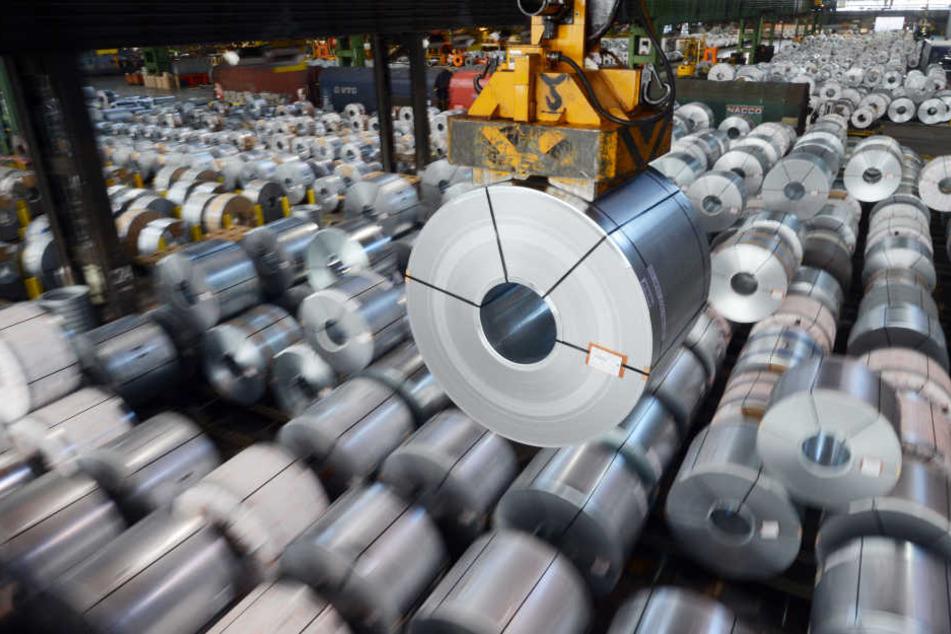 Bedrohen die angedrohten Strafzölle Jobs der Stahlbranche in Deutschlands?