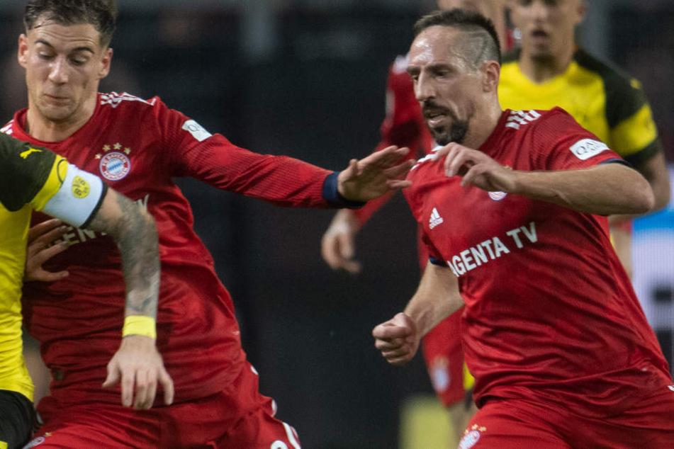 Franck Ribéry soll nach der Partie gegen Borussia Dortmund die Fassung verloren haben.