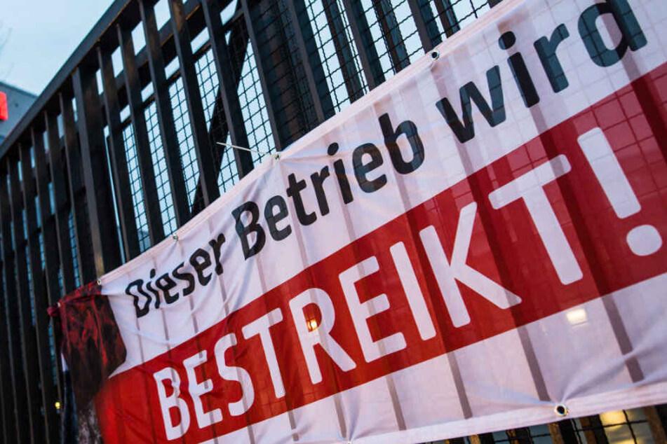 In Erfurt soll bis Samstagmorgen 6 Uhr gestreikt werden.