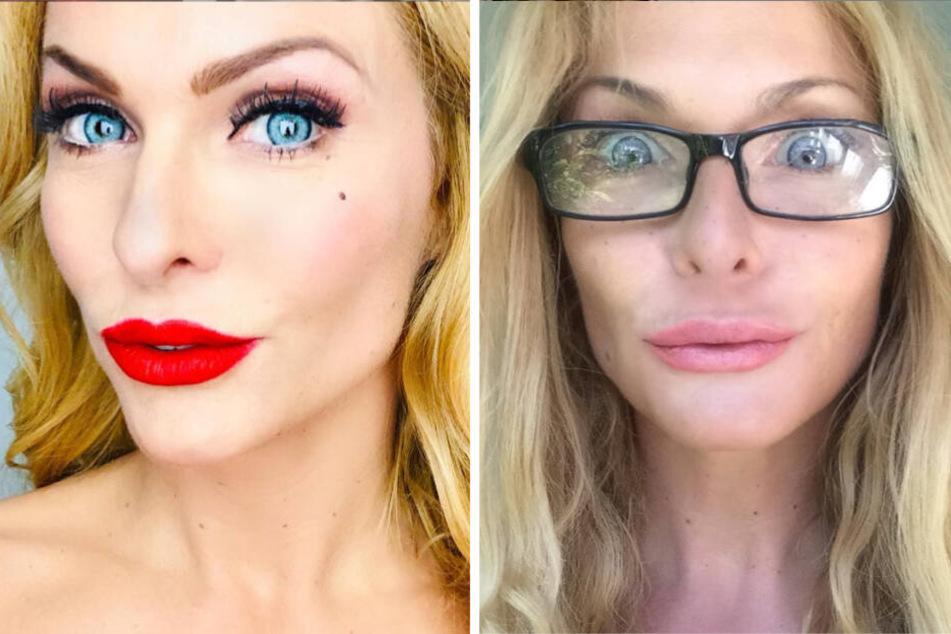 Brille oder Augen lasern lassen? Sonya Kraus fragt ihre Fans um Rat
