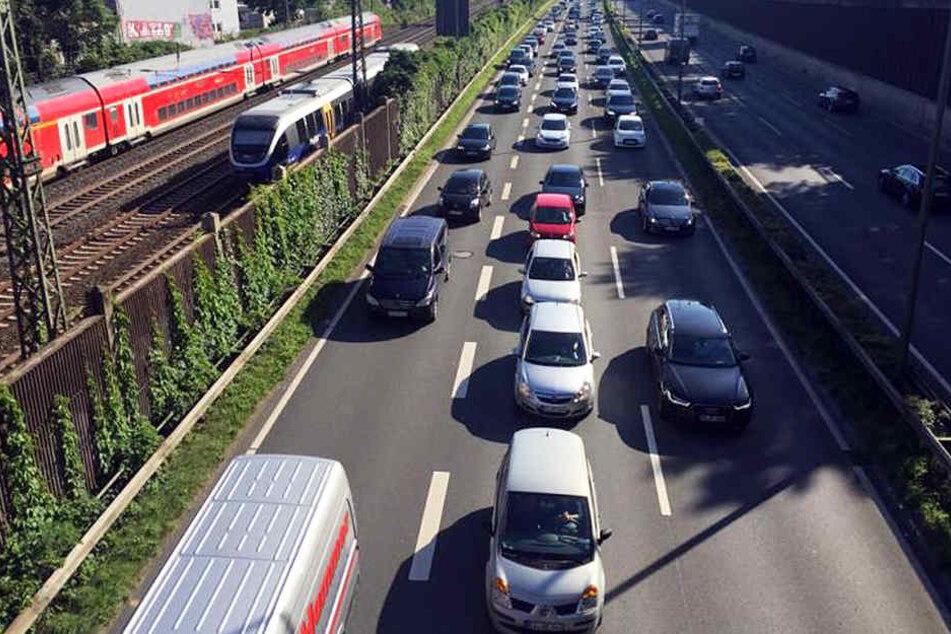 Das Amt für Verkehr sagt, dass eine Pegelminderung durch den Bahn-Verkehr überlagert werden würde.