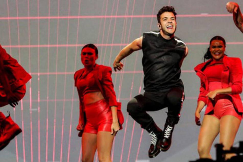 """Eurovision Song Contest"": Ex-DSDS-Sieger Luca Hänni zählt zu den Favoriten"