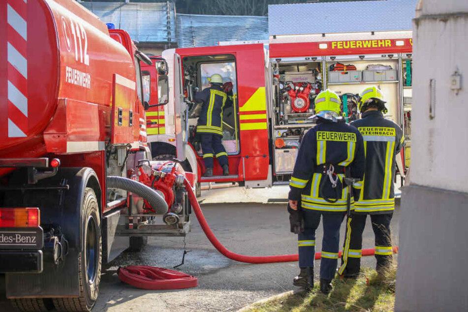 Wieder Bunker-Brand im Erzgebirge