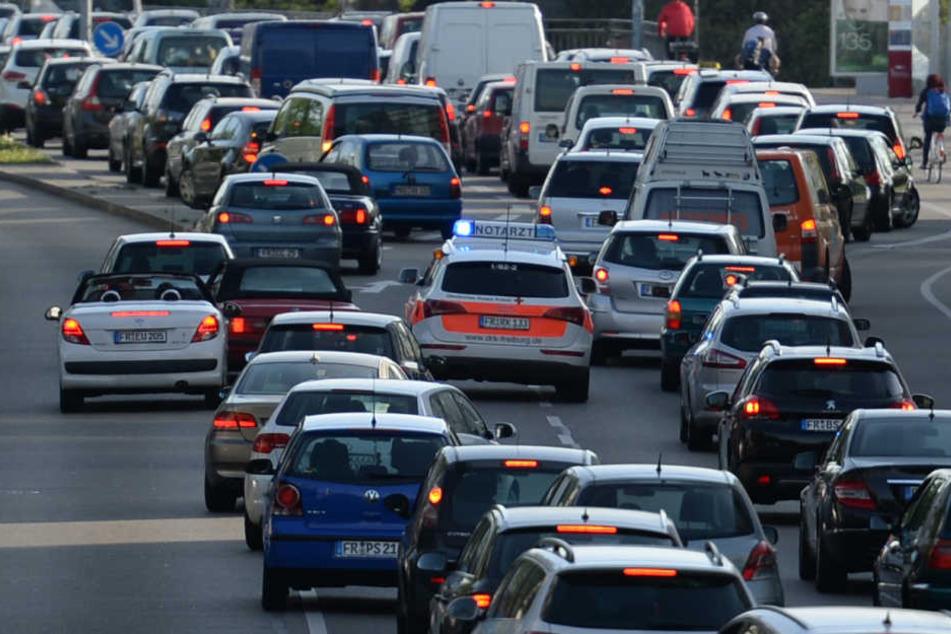 Keine Rettungsgasse gebildet: Über 570 Verstöße