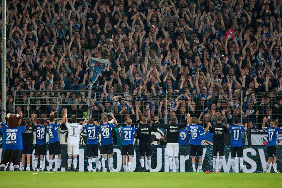 Nach dem 2:0-Sieg gegen Bochum war der DSC sogar Tabellenführer.