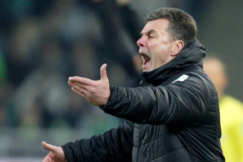 Bis zum Saisonende ist Dieter Hecking Trainer bei Borussia Mönchengladbach.