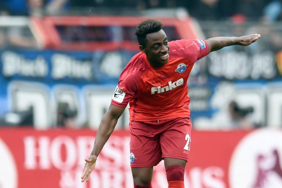 Christopher Antwi-Adjei (24) spielt eine stark Drittliga-Saison.