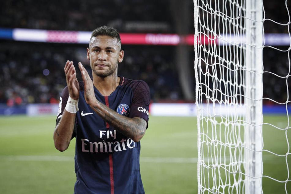 Neymar steht mittlerweile in Paris unter Vertrag.