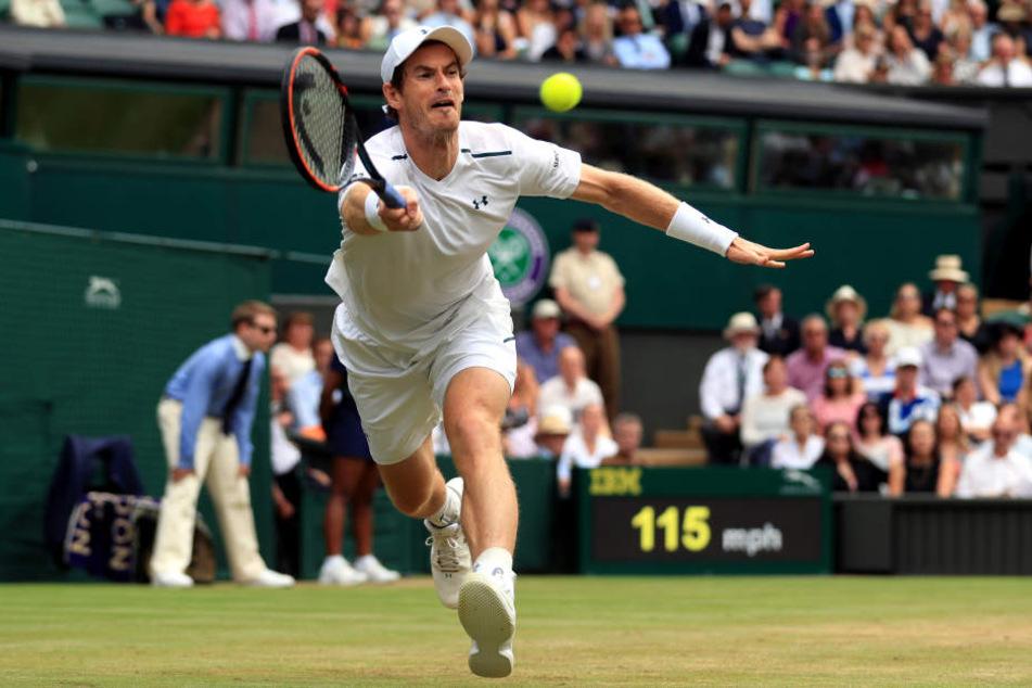 Andy Murray gewann zweimal auf heimischem Rasen in Wimbledon das Grand-Slam-Turnier (2013, 2016) und wurde zudem 2012 in London Olympiasieger.