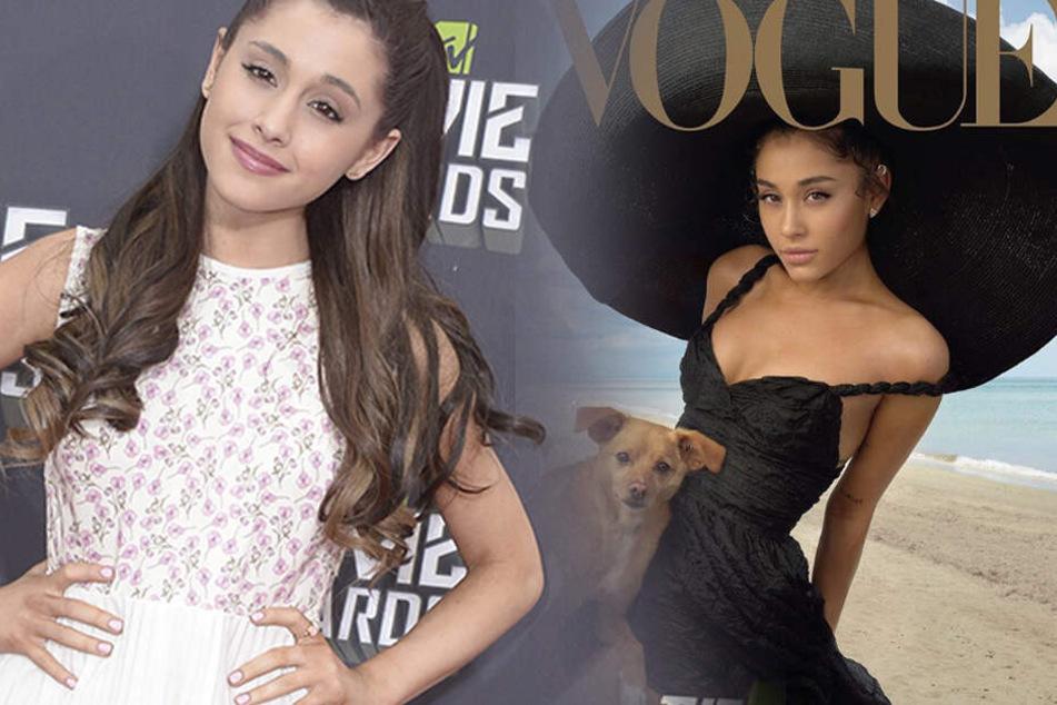 Ariana Grande ziert das Vogue-Cover, doch alle starren nur auf ein Detail