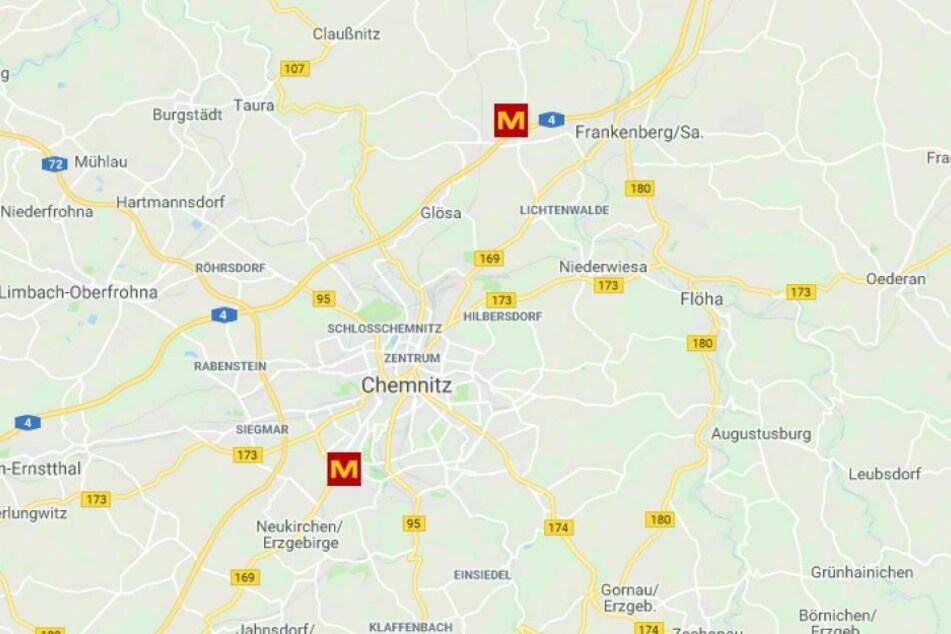 Die Zwei MEDIMAX Filialen In Und Bei Chemnitz