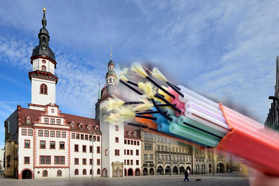 Einmalig in Sachsen: So viel Geld bekommt Chemnitz für den Internet-Ausbau