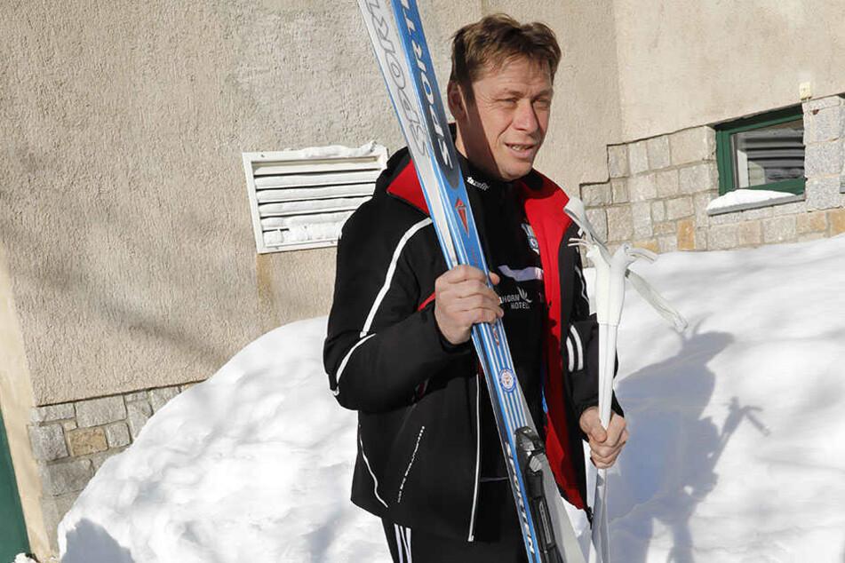 Ski und Rodel gut. Nur mit dem Fußballspielen war es in den vergangenen Wochen schwierig für Sven Köhler und sein Team.