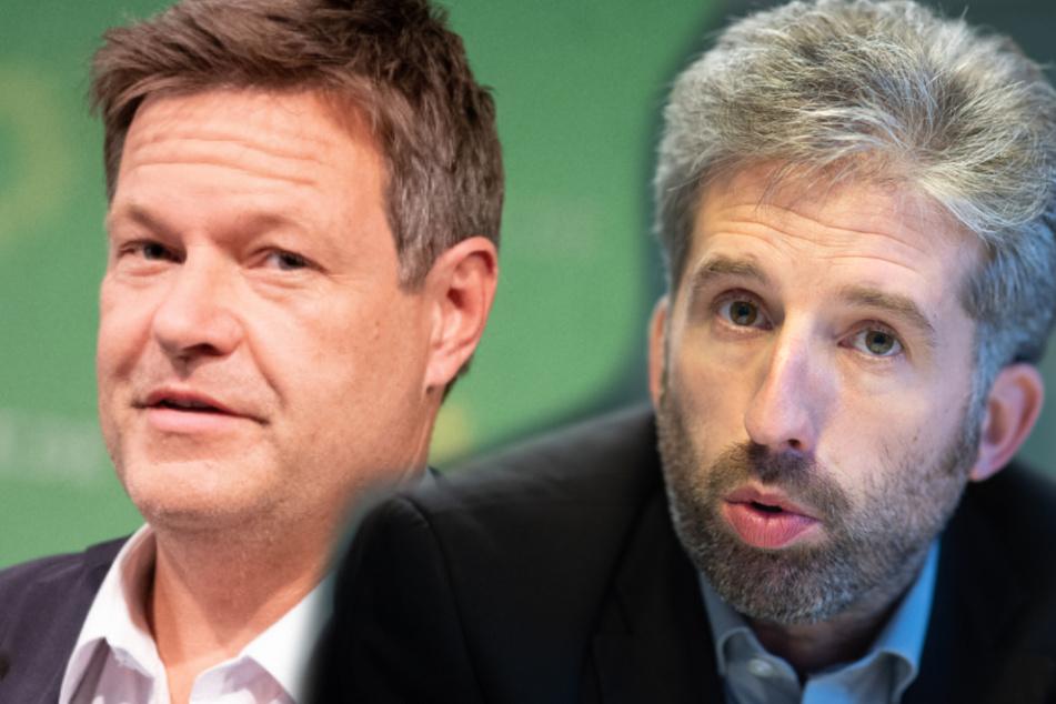 """Grünen-Chef Robert Habeck: Ausschluss-Verfahren für Boris Palmer """"unvermeidlich"""""""