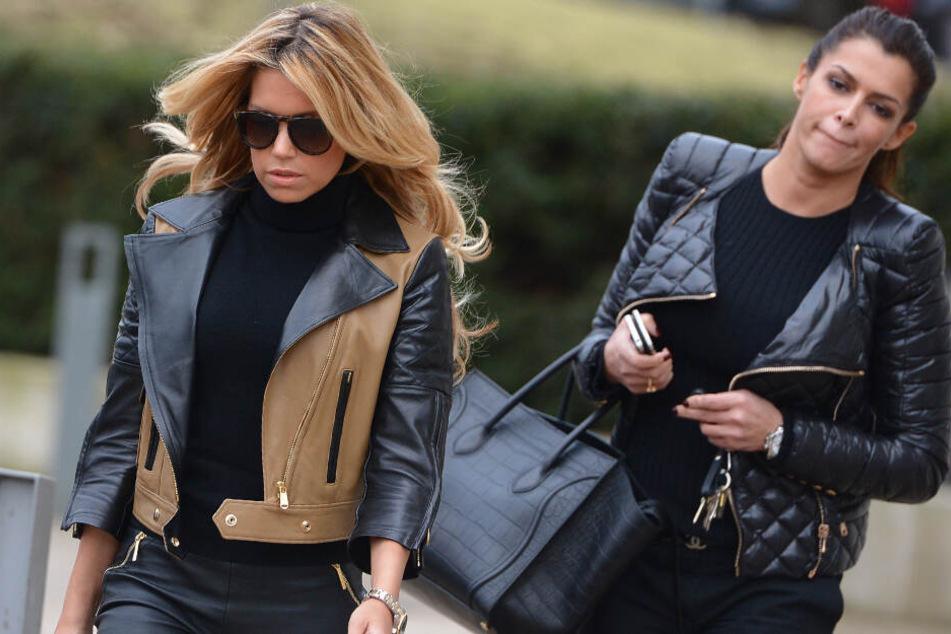 Sylvie Meis (links) und ihre einstige Freundin Sabia Boulahrouz gehen heute getrennte Wege.