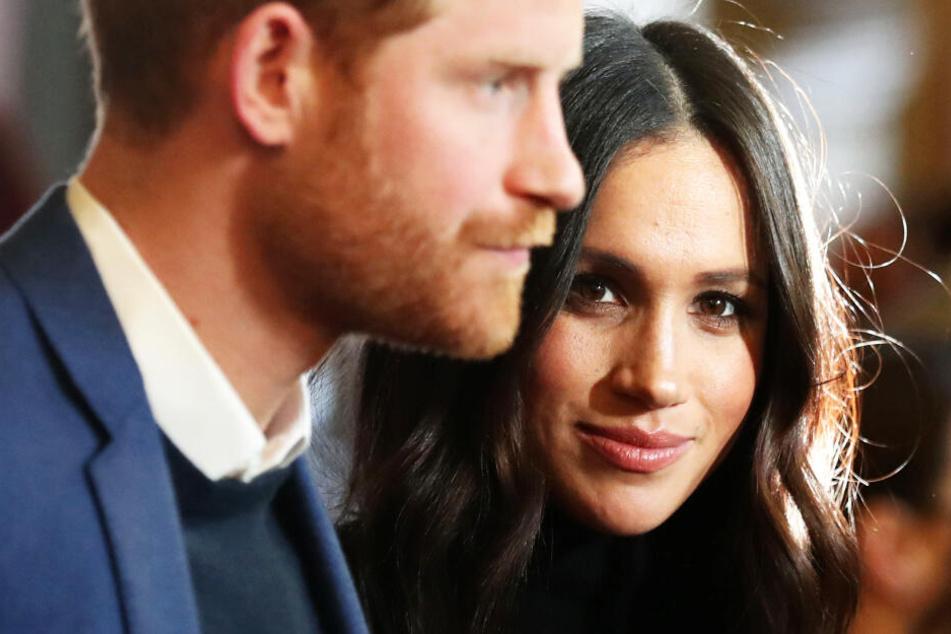 Prinz Harry und seine Ehegattin, Herzogin Meghan.