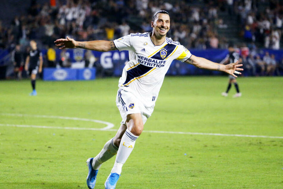 Zlatan Ibrahimovic spielte die letzten knapp zwei Jahre in den USA In der Major League Soccer für Los Angeles Galaxy.