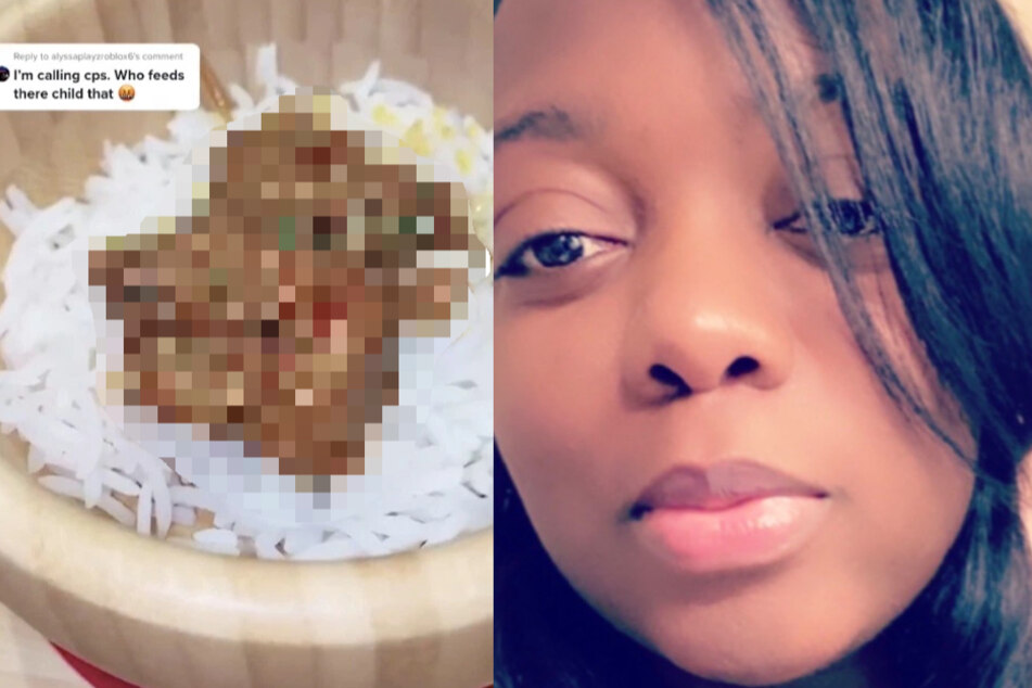 Users threaten to call social services on mother after she posts photos of her cooking