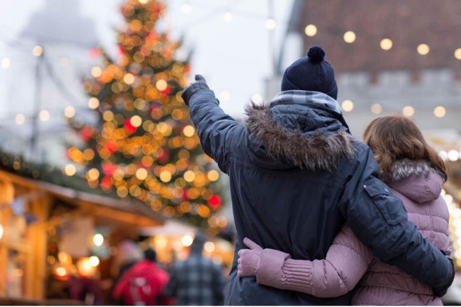 Romantische Weihnachtsmärkte gibt es in Dresden so einige.