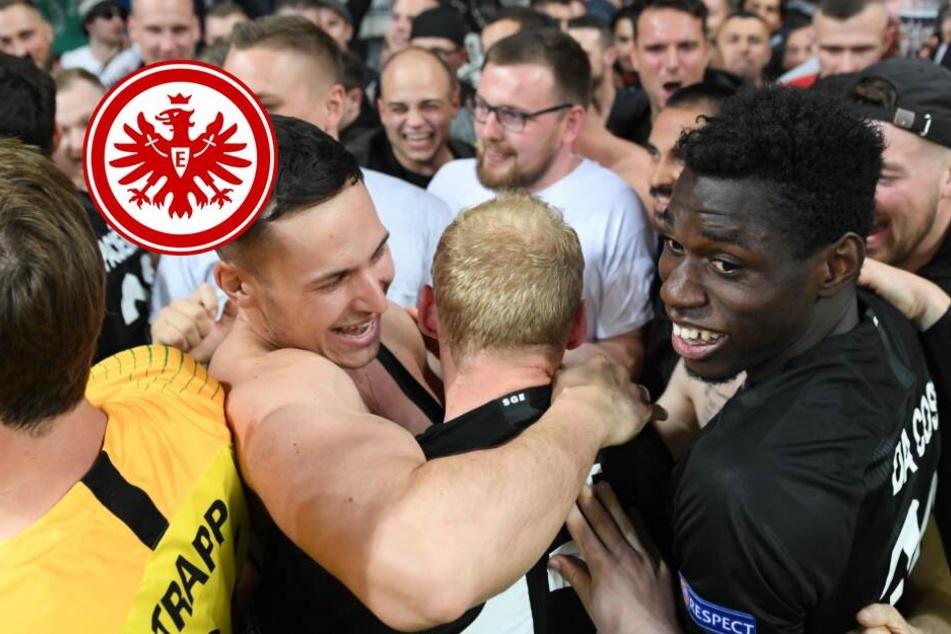 """""""Die ganze Arena hat gebebt"""": Eintracht feiert emotionale Party mit den Fans"""