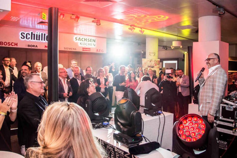 Die VIP-Lounge gehört zu den erfolgreichsten Veranstaltungen im KÜCHENZENTRUM.
