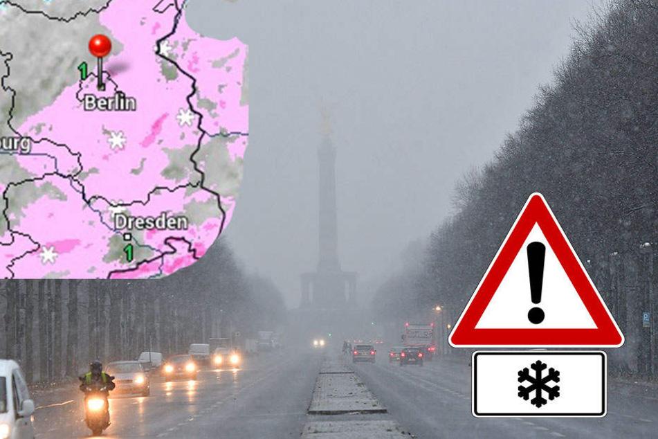 Wird Berlin jetzt komplett eingeschneit?