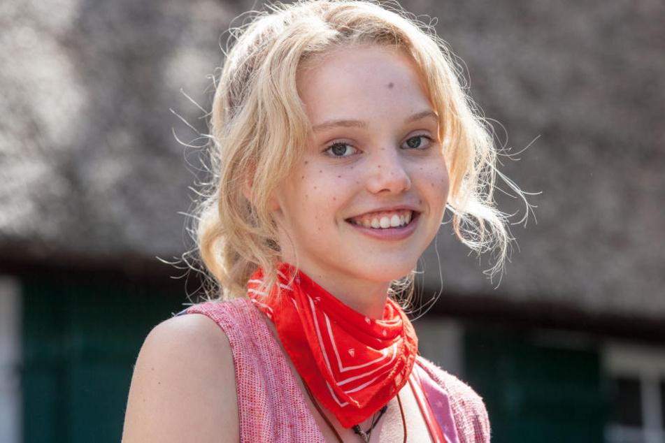 Lina Larissa Strahl gibt am Mittwoch in Thalheim ein Schulhofkonzert.