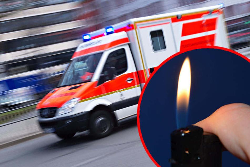 Die Feuerwehr konnte den Brand glücklicherweise schnell löschen, verletzt wurde niemand. (Symbolbild)
