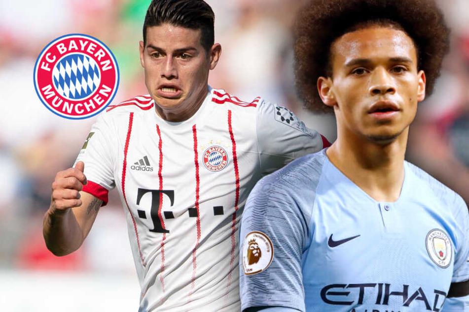 """""""Wahnsinn"""" bei einem möglichen Bayern-Wechsel von Leroy Sané, James wohl weg"""