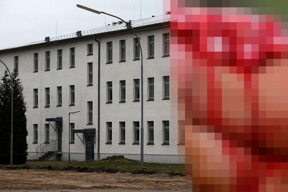 Kurz nachdem er nach einer Platzwunde aus der Klinik entlassen wurde, kehrte ein Mann blutüberströmt ins Asylheim zurück. (Symbolbild)