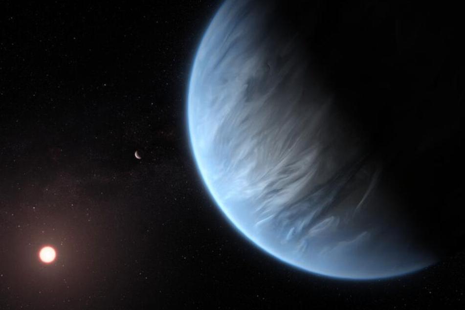 Sensation im Weltall! Forscher entdecken Wasser auf Supererde