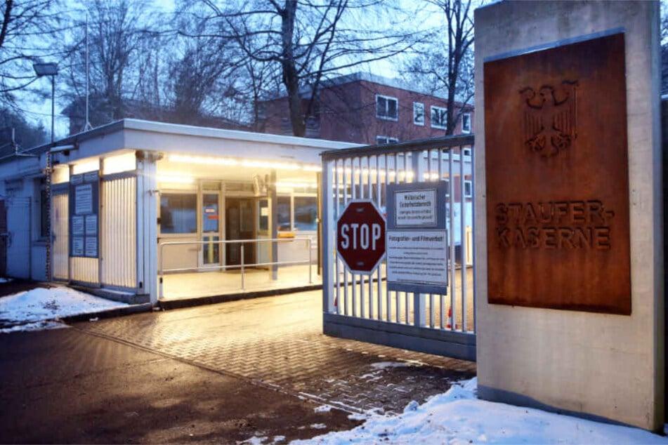Die Staufer-Kaserne in Pfullendorf ist vor allem wegen angeblicher sexuell-sadistischer Praktiken in den Schlagzeilen gewesen. (Archivbild)