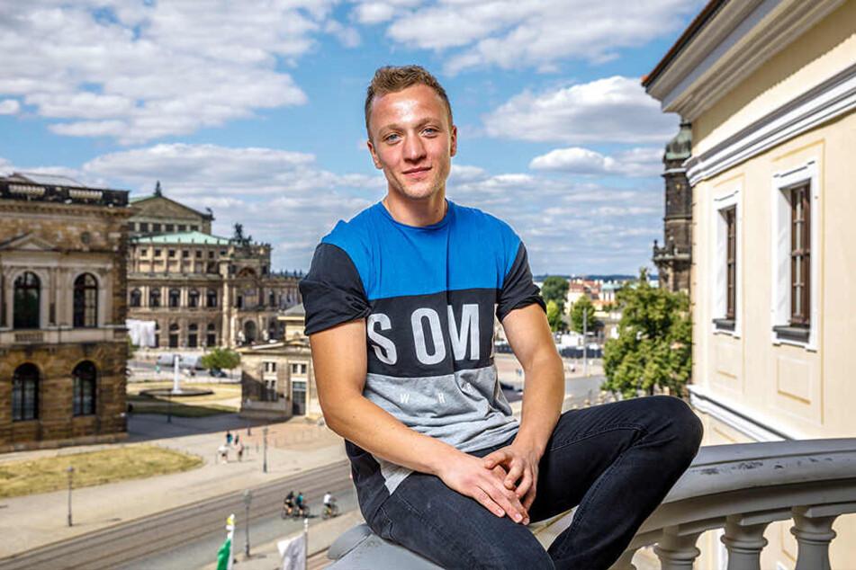 Sänger Joris (29) ist in diesem Jahr der Hauptact beim Canaletto.