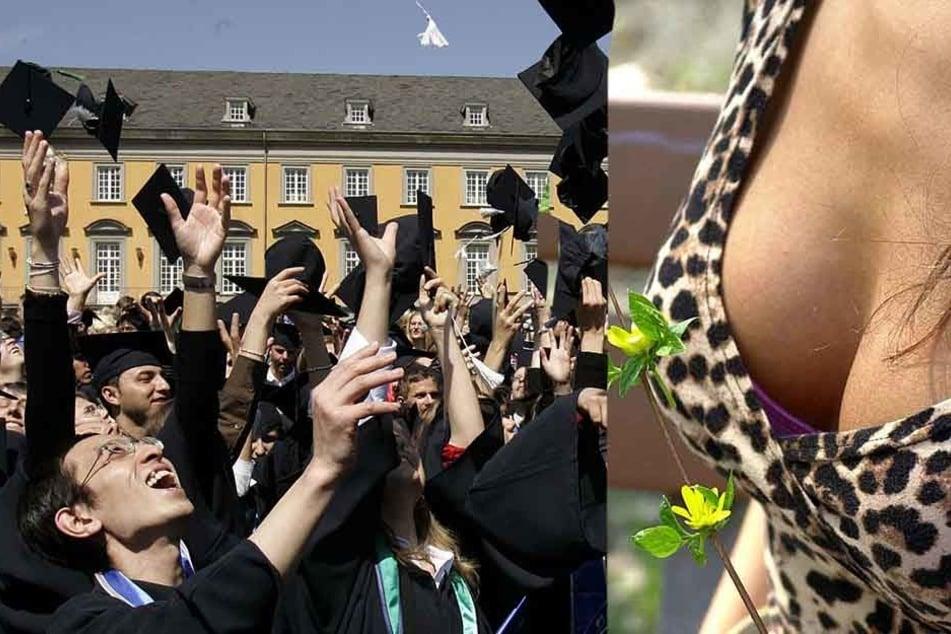 Bei der Absolventenfeier sollten die Medizin-Studentinnen ihr Dekolleté in Szene setzen (Symbolbild).
