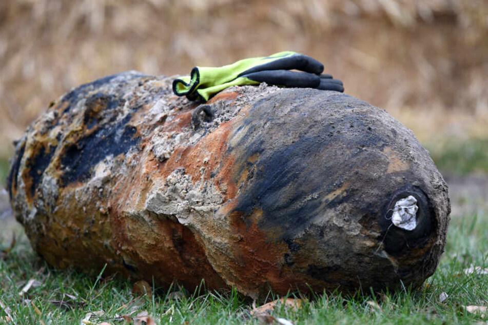 Die 250-Kilo-Bombe soll heute noch entschärft werden.