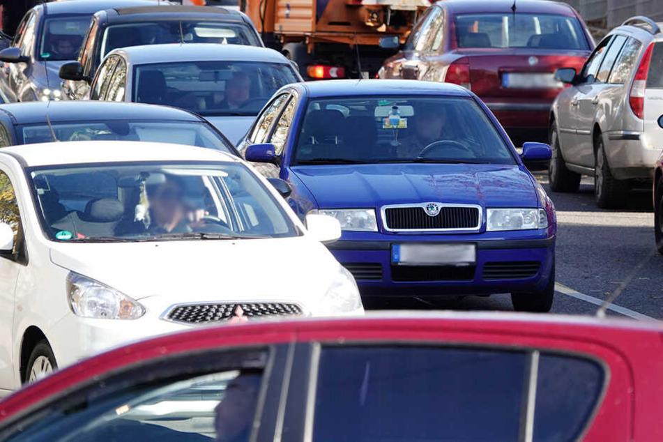 Neue Baustelle sorgt für Verkehrschaos in Chemnitz